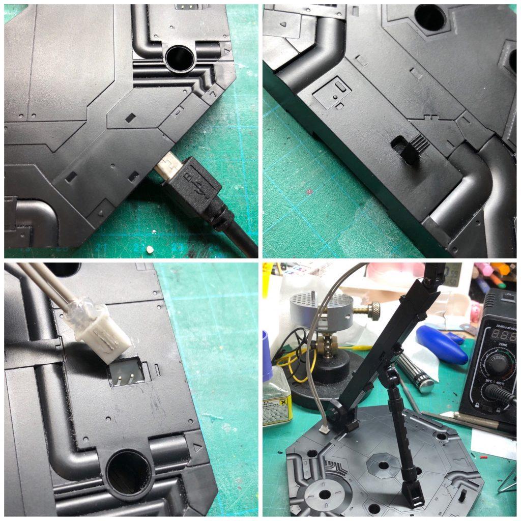 ダブルオークアンタ セミライトニング 制作工程4