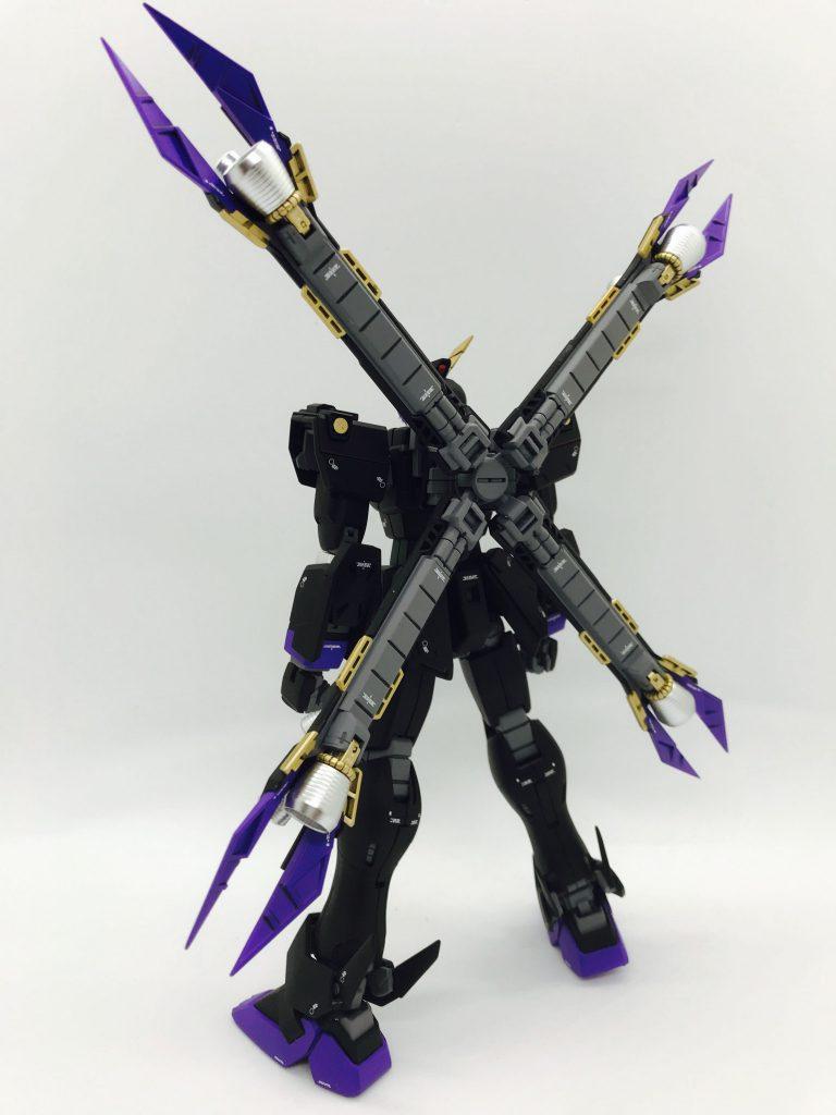 MGクロスボーンガンダムX2改 制作工程1