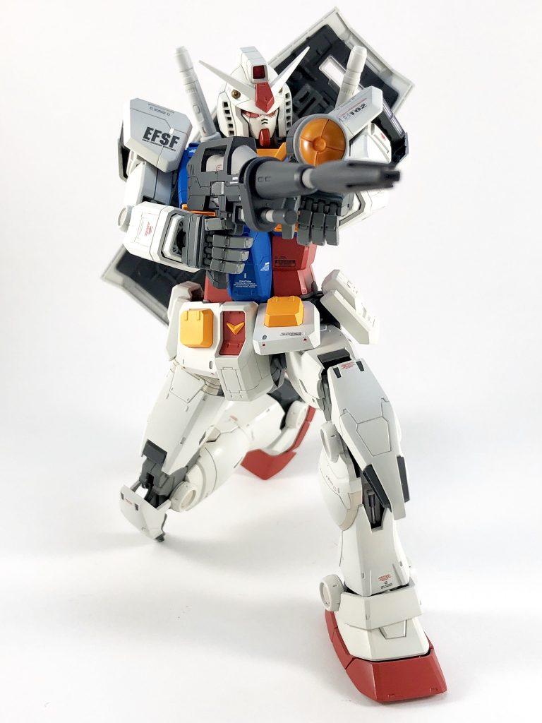 MG RX78-2 ガンダム ORIGIN/Ver.ONE YEAR WARミキシング アピールショット3