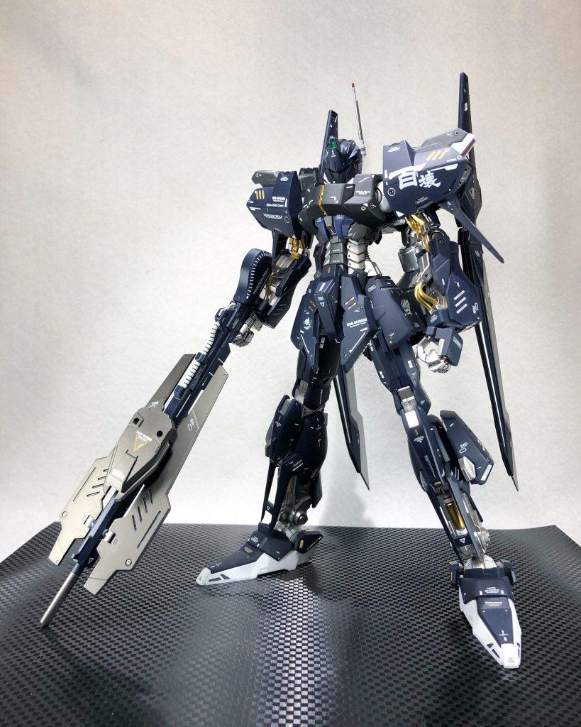 MG 1/100 百式壊 アピールショット3
