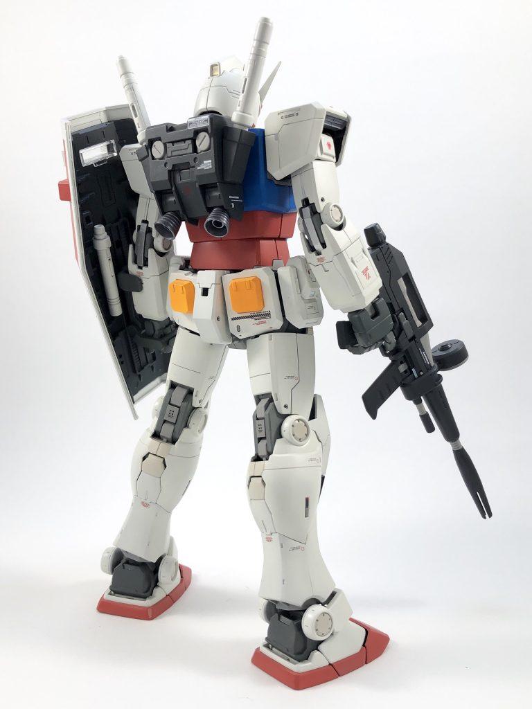 MG RX78-2 ガンダム ORIGIN/Ver.ONE YEAR WARミキシング アピールショット6