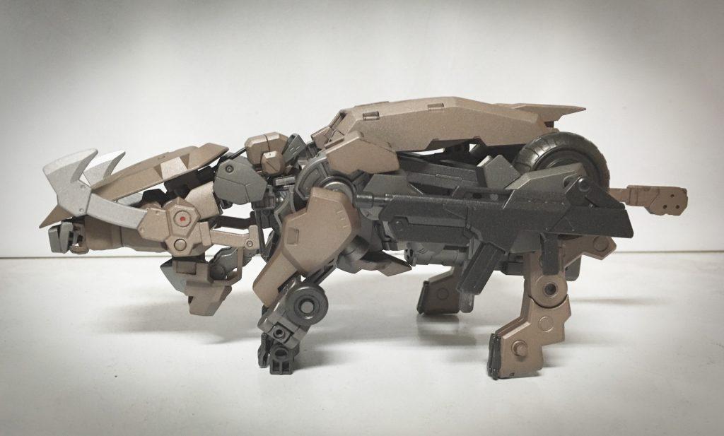 獅電 ヰ型 制作工程3