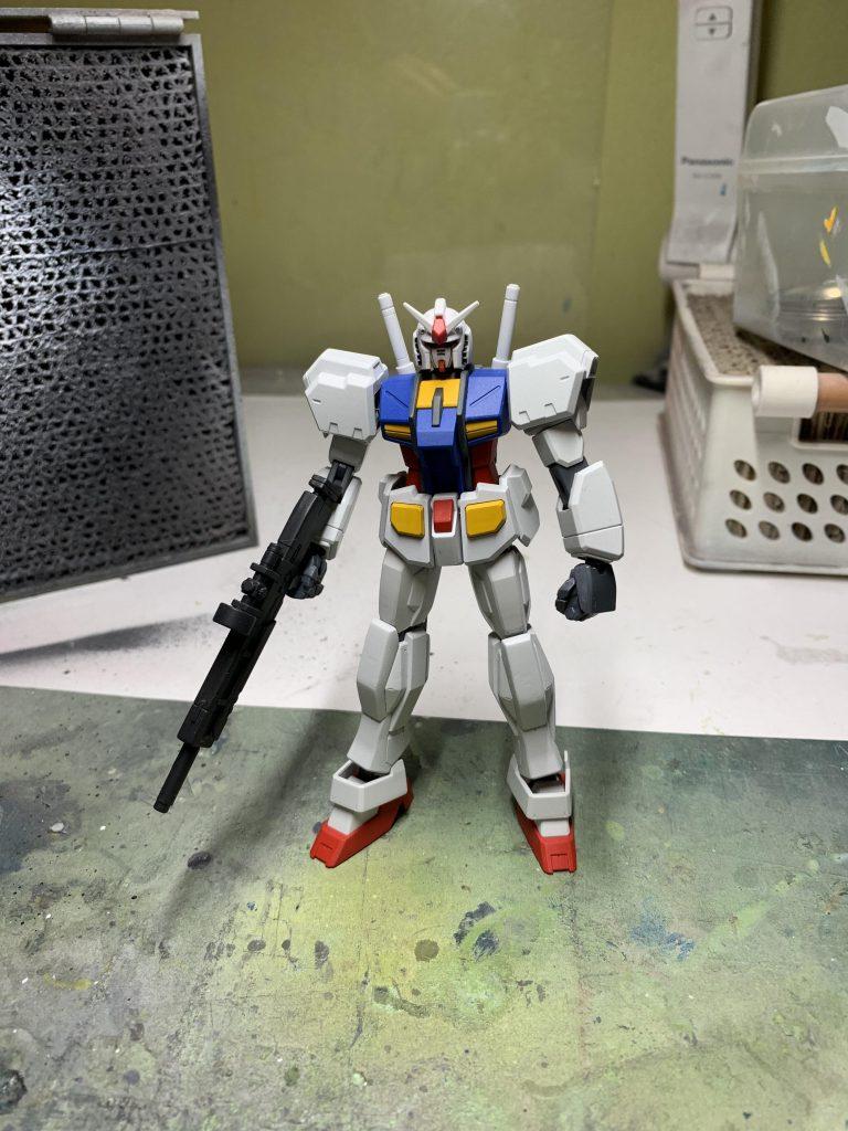 ガンダムR-01 制作工程5