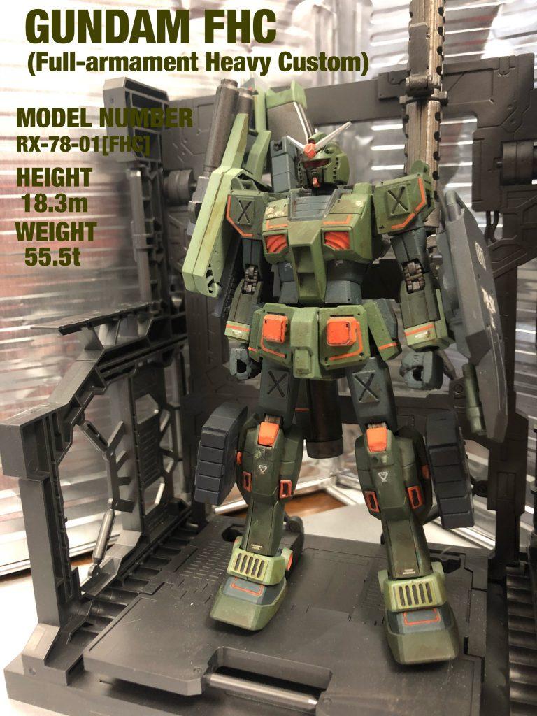 RX-78-01[FHC]GUNDAM FHC アピールショット1