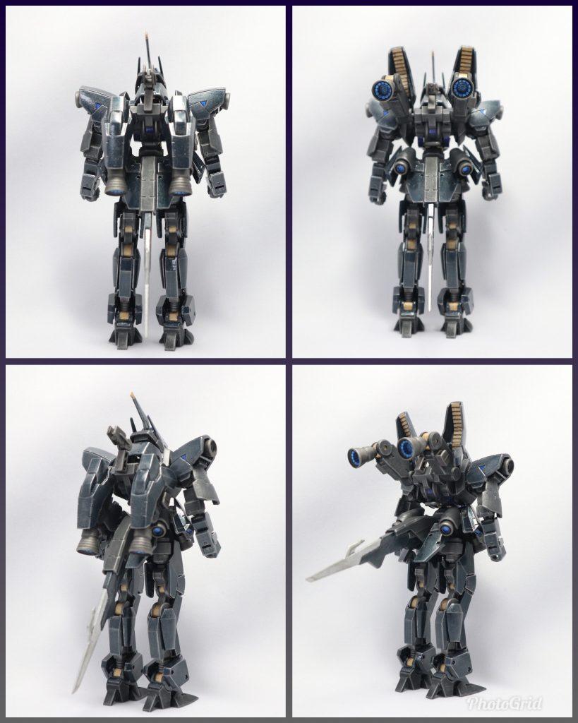 EB-06/tc3 Shiden-Go[Graze Custom Ⅲ]グレイズ改参 紫電号 アピールショット3