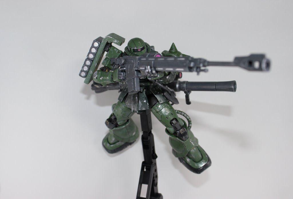 ザクⅡTYPEC-6/R6 制作工程2