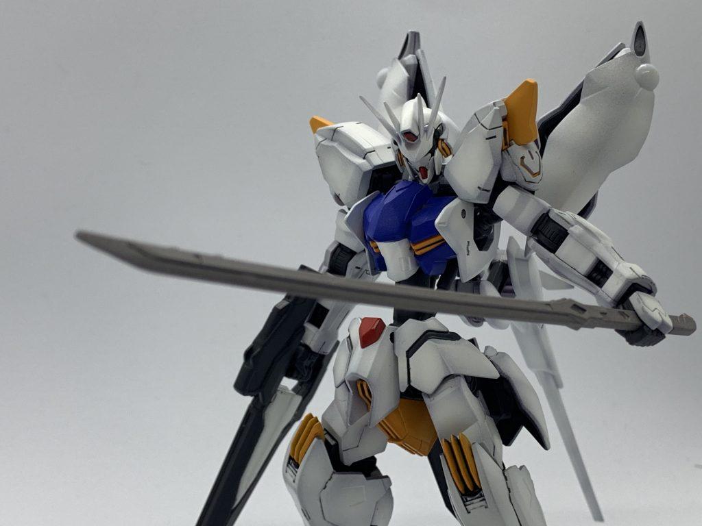 ASW-G-L ガンダムレギルス 制作工程1