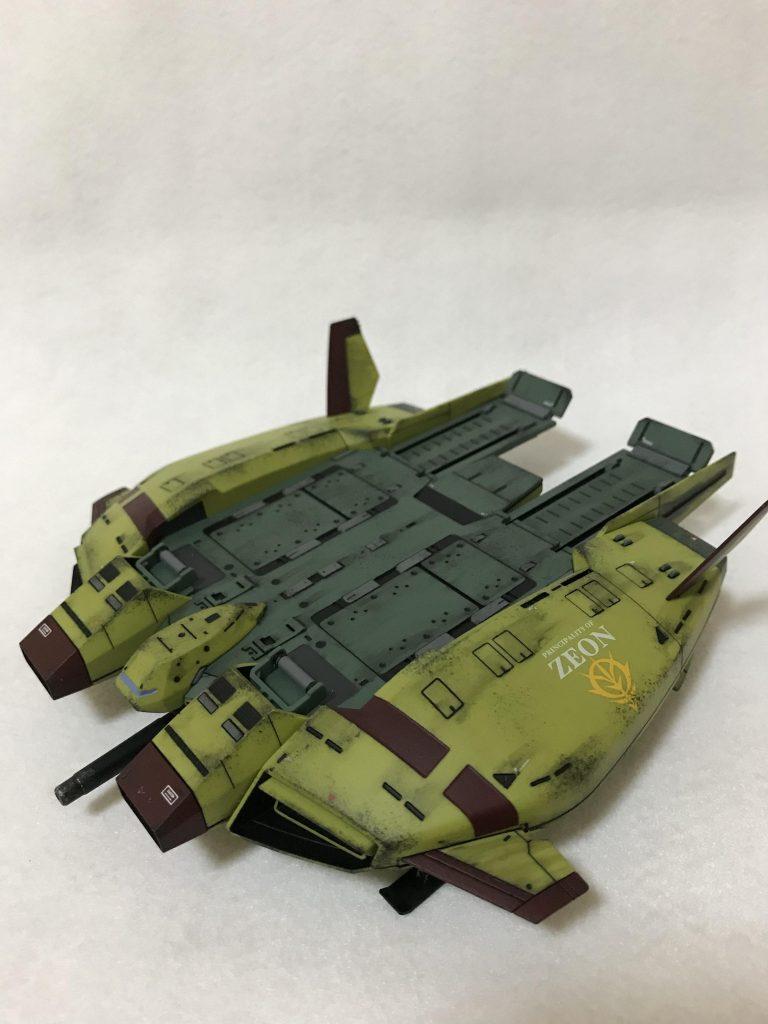 HGUC 1/144 ザクⅠスナイパータイプ カークス機 アピールショット6