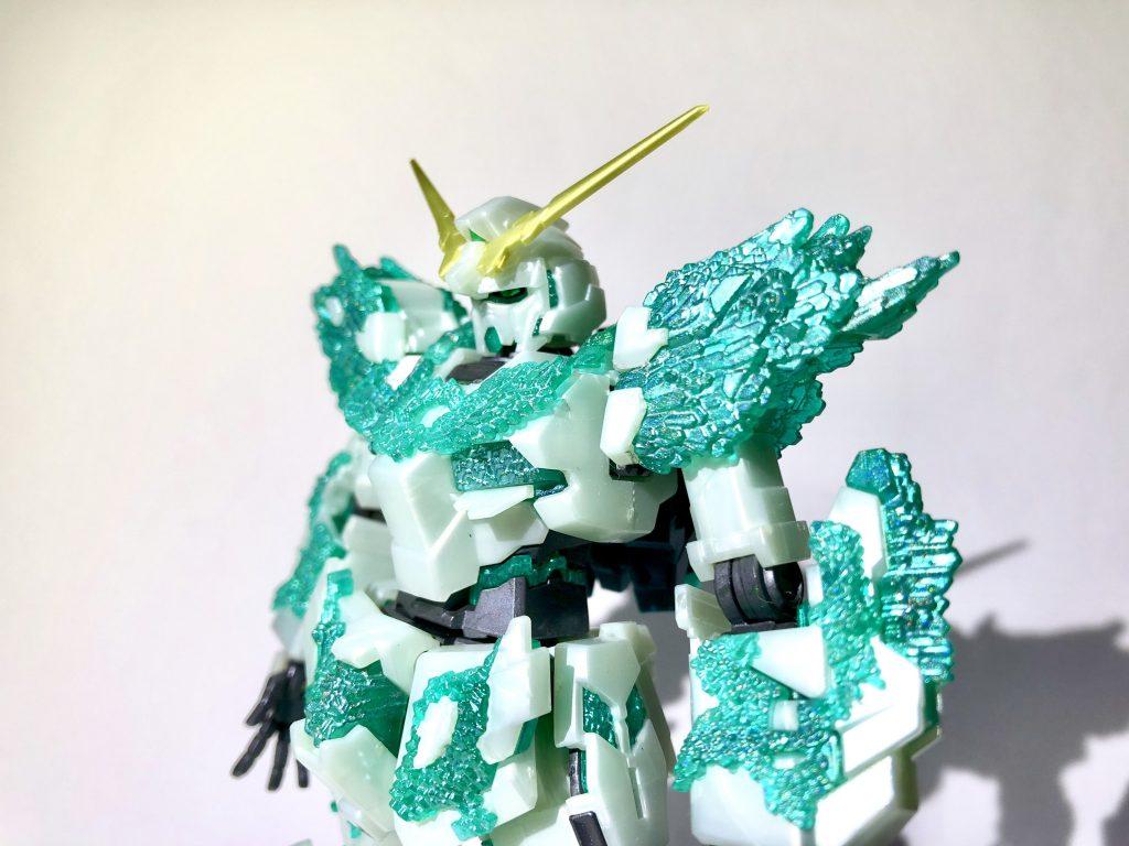 ユニコーンガンダム(光の結晶体)|シマさんのガンプラ作品|GUNSTA [ガンスタ]