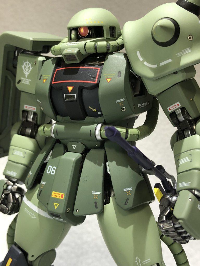 MG 1/100 ザクII J型 ver2.0