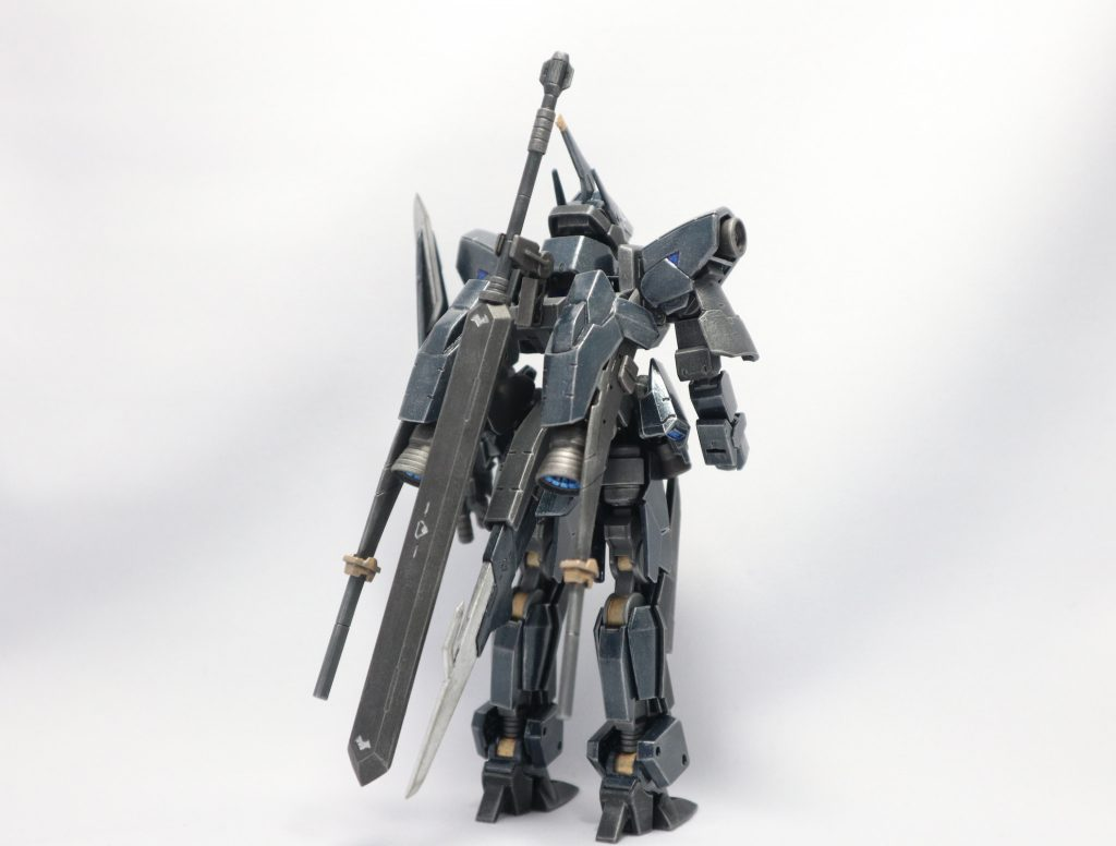 EB-06/tc3 Shiden-Go[Graze Custom Ⅲ]グレイズ改参 紫電号 制作工程8