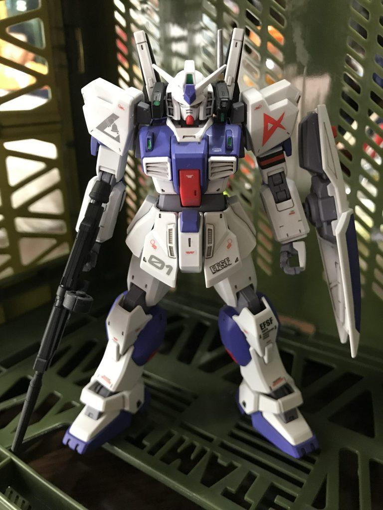 ガンダムMk-Ⅱ アムロ仕様 ロンドベル版 アピールショット8