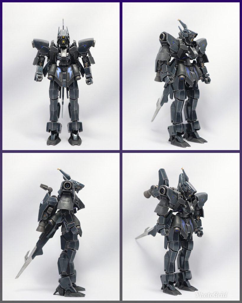 EB-06/tc3 Shiden-Go[Graze Custom Ⅲ]グレイズ改参 紫電号 アピールショット2