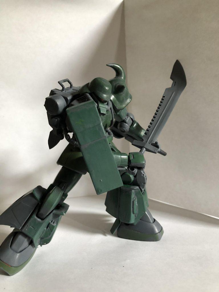 高機動型ザク後期型(残党軍仕様) アピールショット3