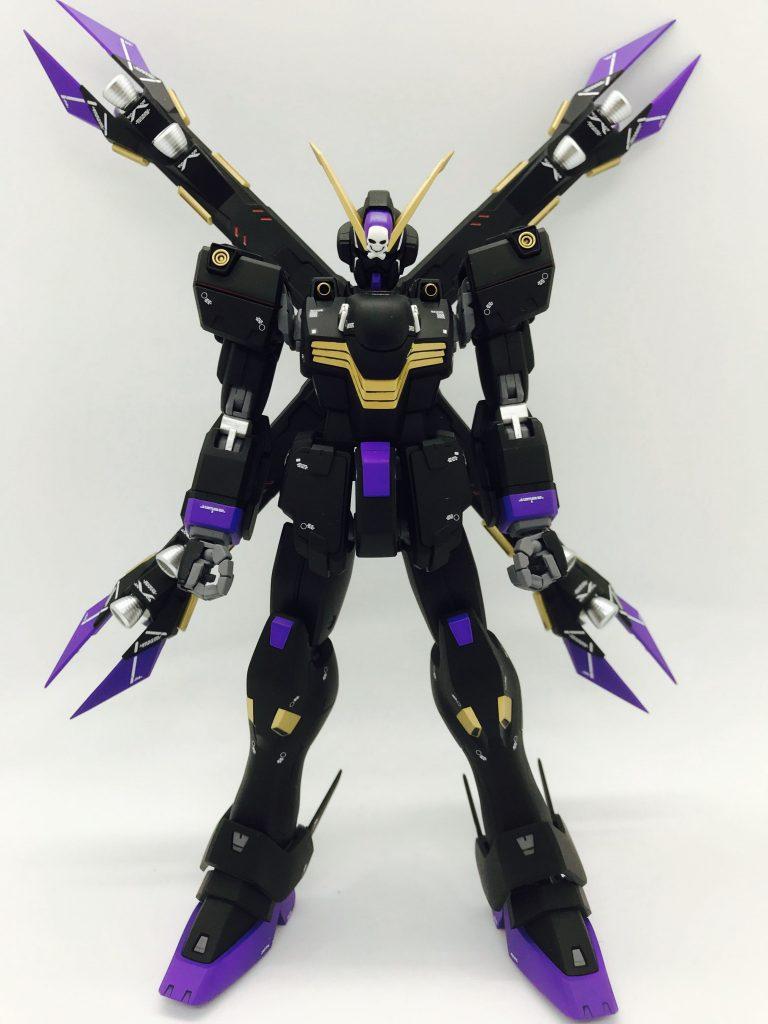MGクロスボーンガンダムX2改 制作工程3