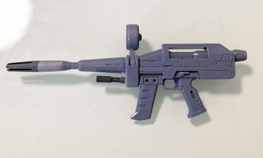 MG RX78-2 ガンダム ORIGIN/Ver.ONE YEAR WARミキシング 制作工程5