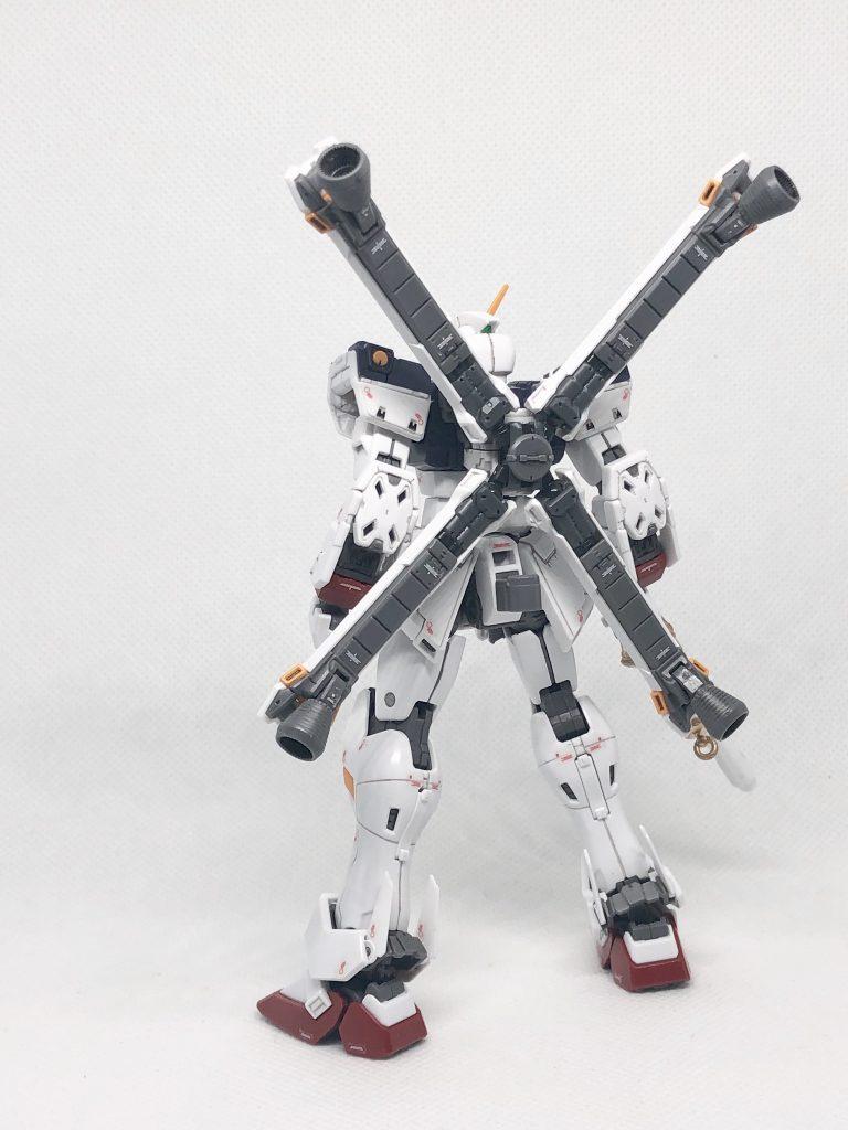 RG クロスボーンガンダムX1 制作工程8