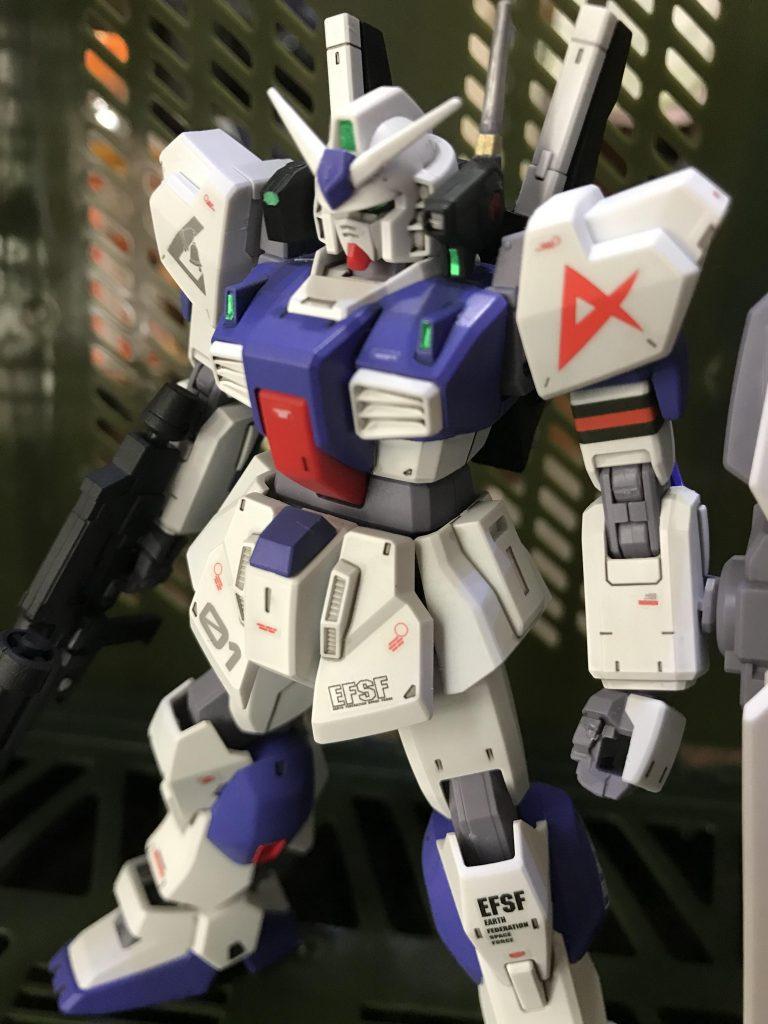 ガンダムMk-Ⅱ アムロ仕様 ロンドベル版 アピールショット2