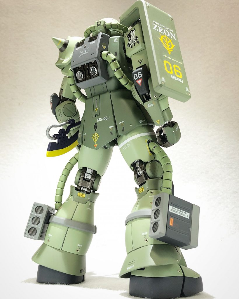 MG 1/100 ザクII J型 ver2.0 アピールショット4