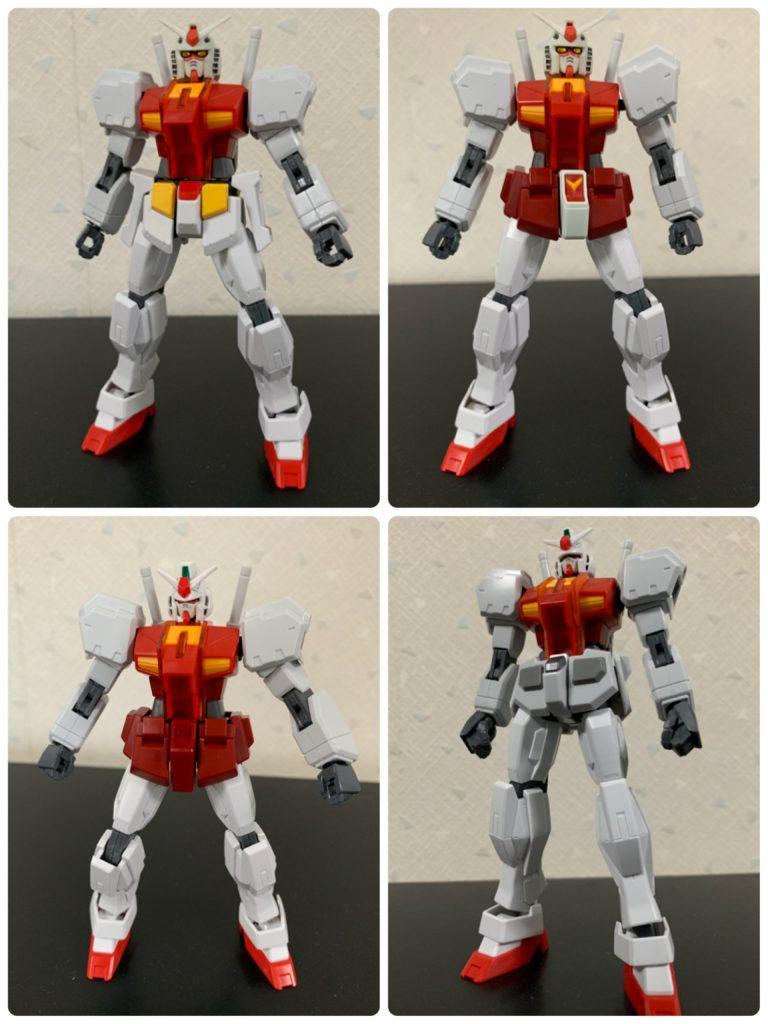 ガンダムR-01 制作工程3