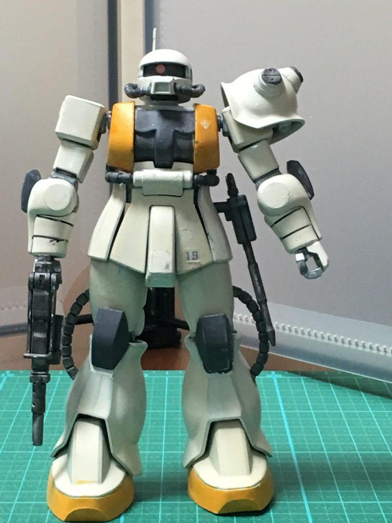 連邦鹵獲ザク【HGUC使用】