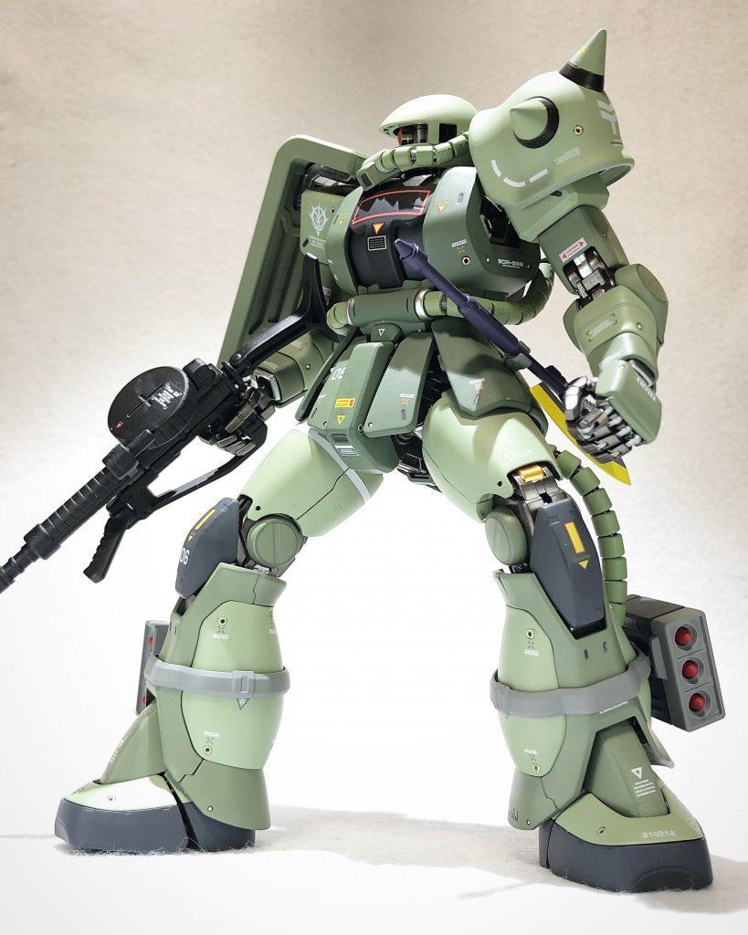 MG 1/100 ザクII J型 ver2.0 アピールショット3