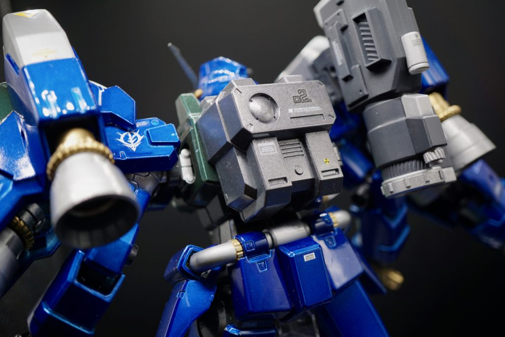 MG RX-78GP02A サイサリス ガトー専用機改修カラー 制作工程3