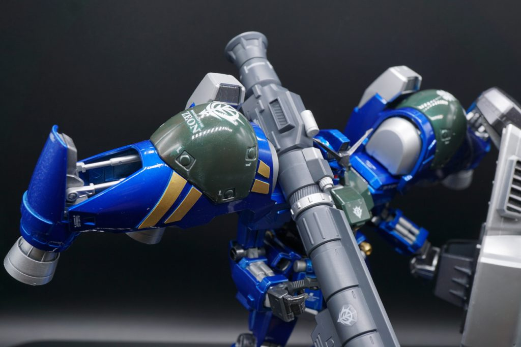 MG RX-78GP02A サイサリス ガトー専用機改修カラー 制作工程4
