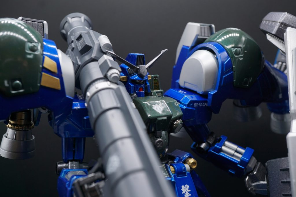 MG RX-78GP02A サイサリス ガトー専用機改修カラー 制作工程6
