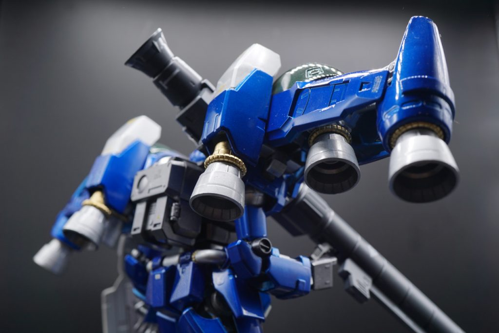 MG RX-78GP02A サイサリス ガトー専用機改修カラー 制作工程5