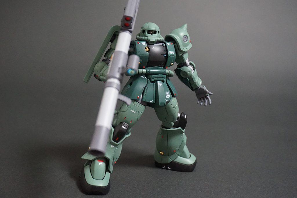 HG ORIGIN ザクII C-6/R6型 【安彦良和Ver.】 アピールショット3