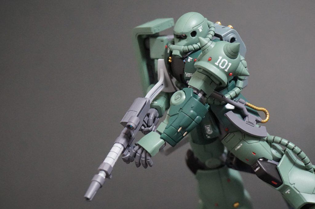 HG ORIGIN ザクII C-6/R6型 【安彦良和Ver.】 アピールショット4