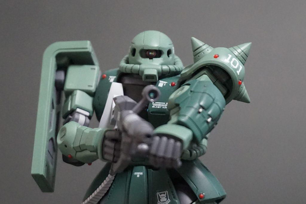 HG ORIGIN ザクII C-6/R6型 【安彦良和Ver.】 アピールショット5