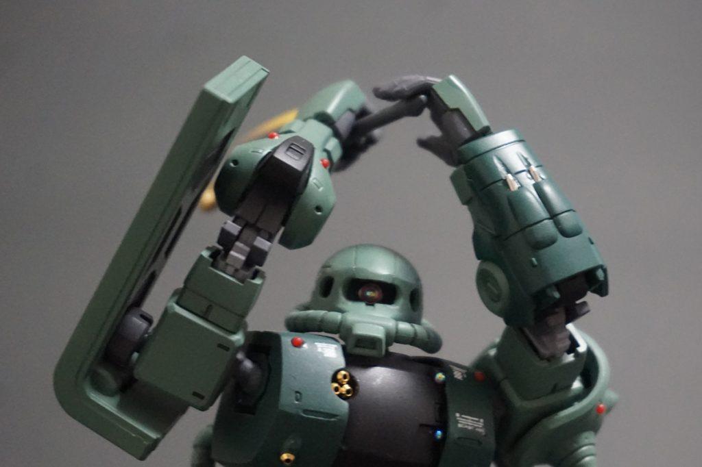 HG ORIGIN ザクII C-6/R6型 【安彦良和Ver.】 アピールショット7