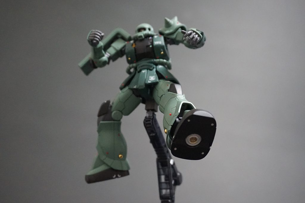 HG ORIGIN ザクII C-6/R6型 【安彦良和Ver.】 アピールショット8