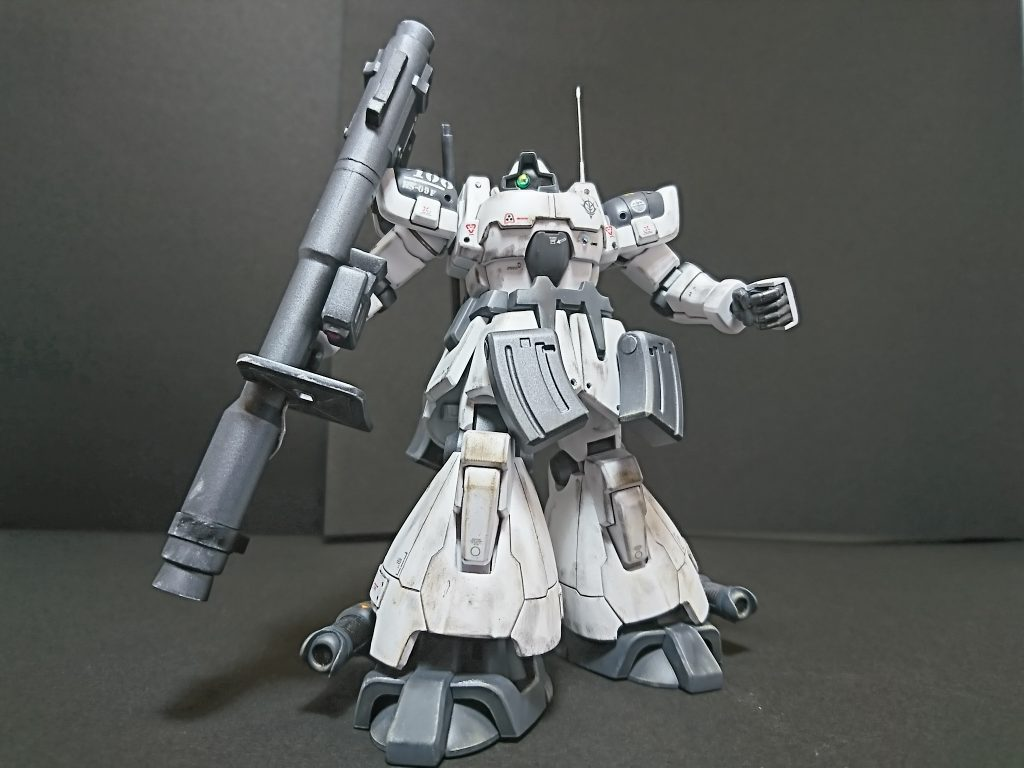 MS-09F DOM【type-Arctic】ドム北極圏仕様 アピールショット1