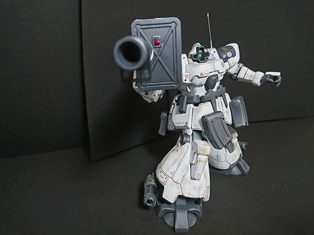 MS-09F DOM【type-Arctic】ドム北極圏仕様 アピールショット8