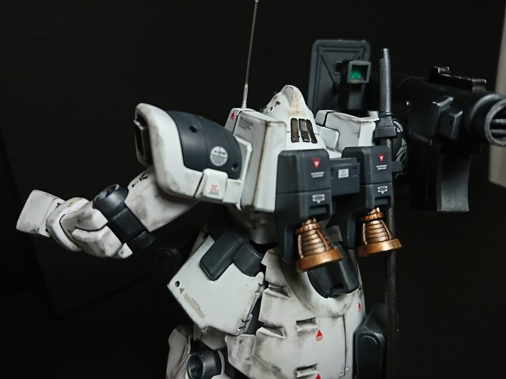 MS-09F DOM【type-Arctic】ドム北極圏仕様 制作工程3
