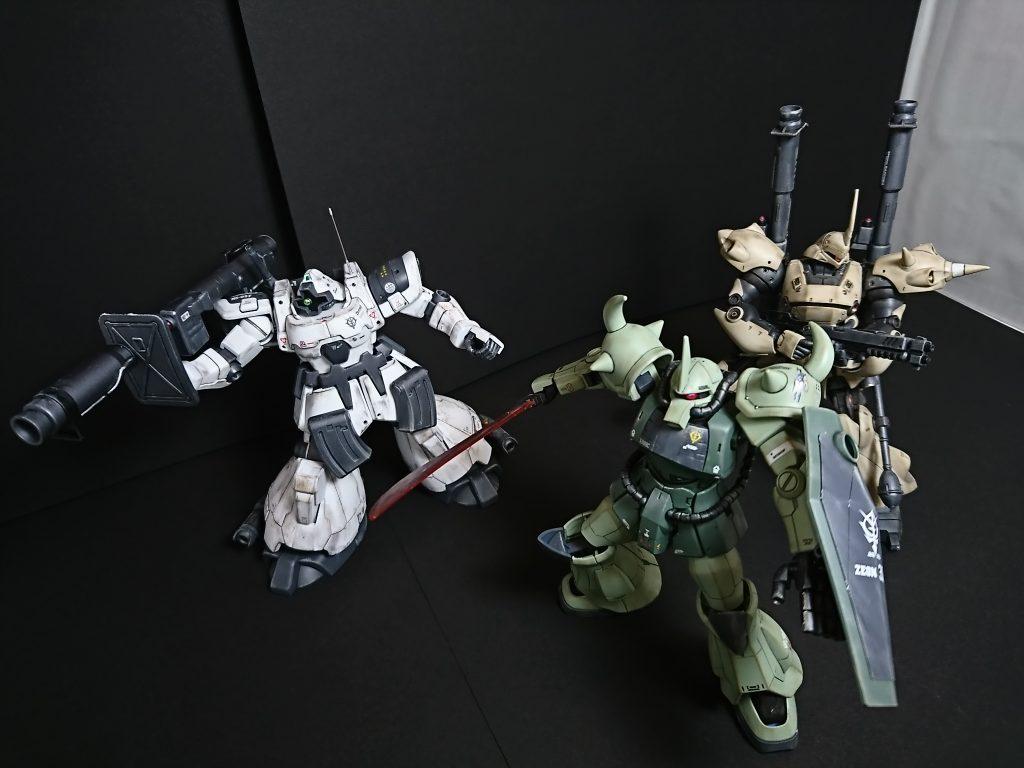 MS-09F DOM【type-Arctic】ドム北極圏仕様 制作工程4