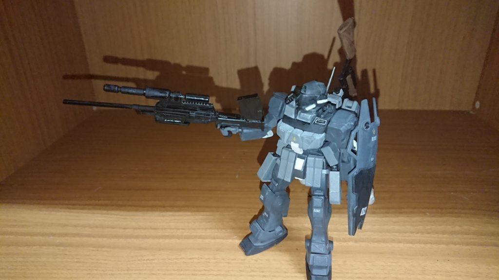 ジムスナイパーⅡ 黒き闇夜の特務部隊使用 アピールショット2