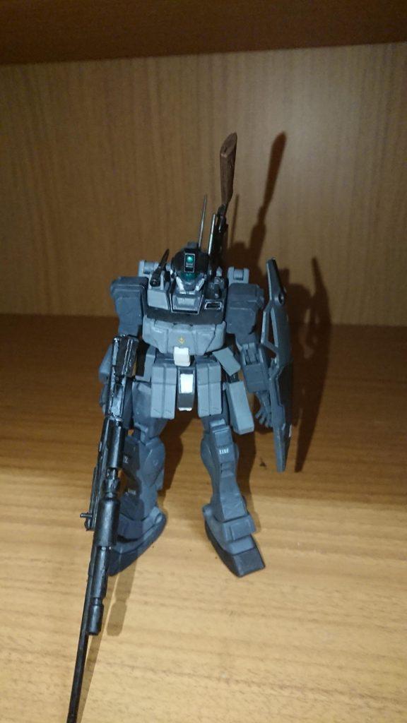 ジムスナイパーⅡ 黒き闇夜の特務部隊使用 アピールショット1