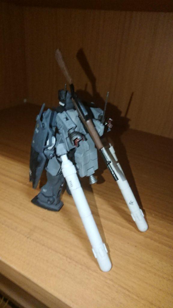 ジムスナイパーⅡ 黒き闇夜の特務部隊使用 アピールショット3