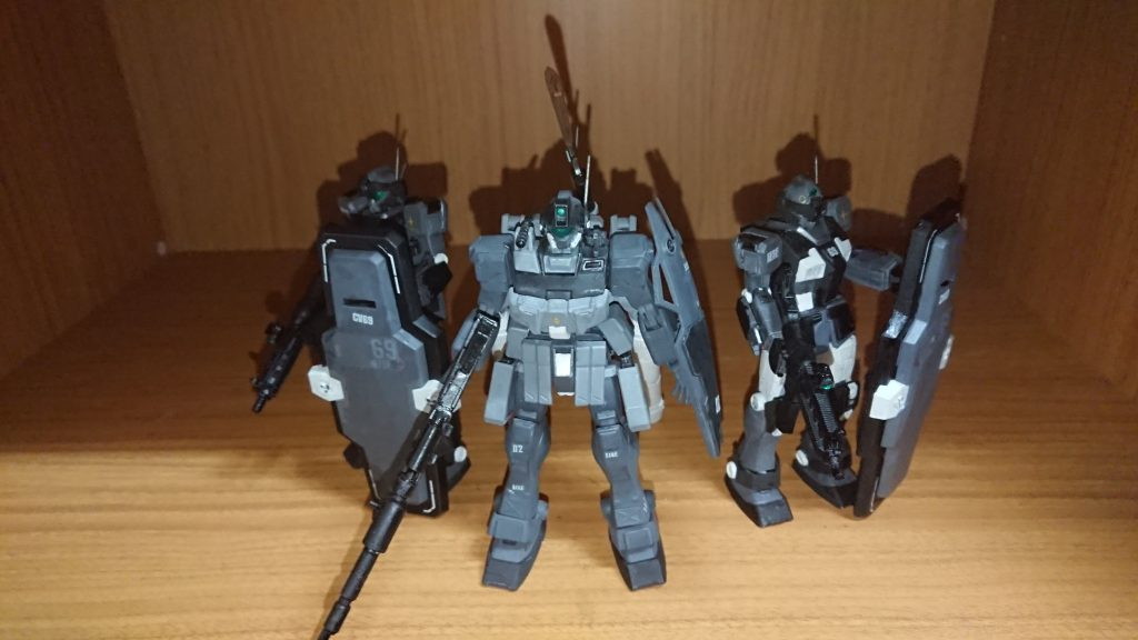 ジムスナイパーⅡ 黒き闇夜の特務部隊使用 アピールショット4