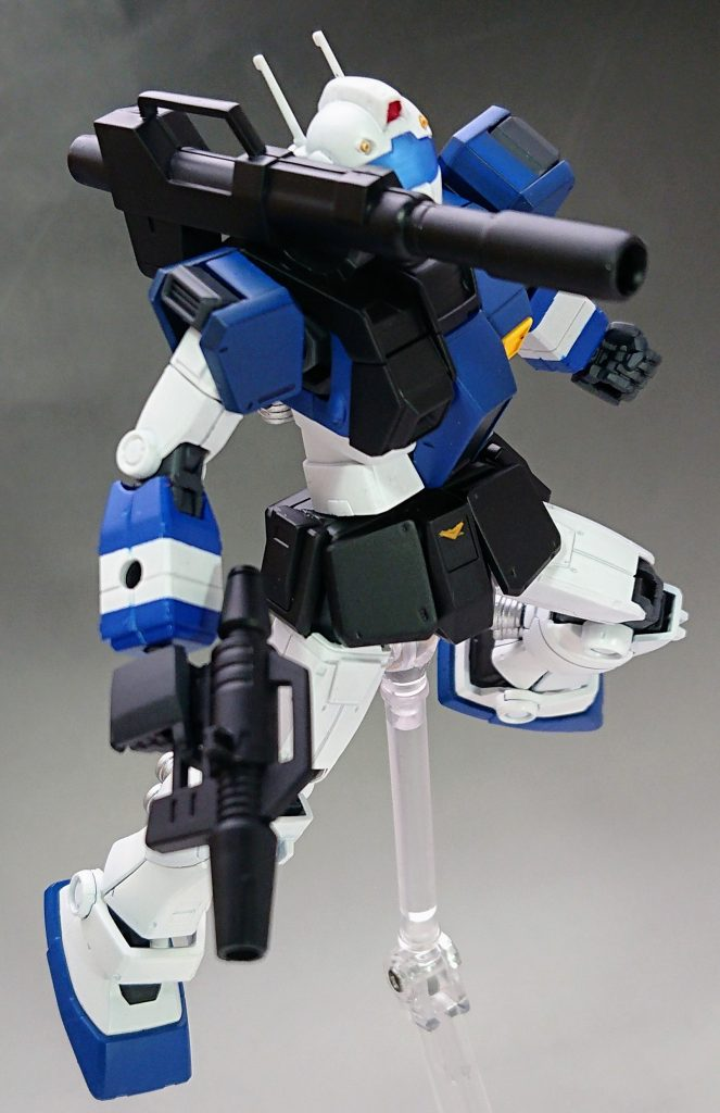 ジムキャノン空間突撃仕様レビル艦隊配備カラー アピールショット6