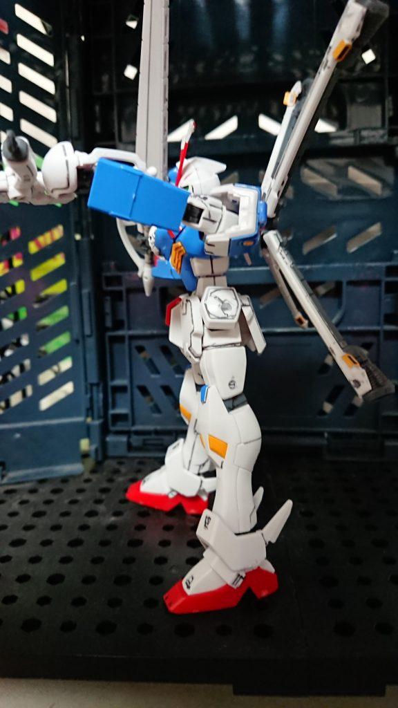 【HG】【プレバン】クロスボーンガンダムX3 アピールショット2