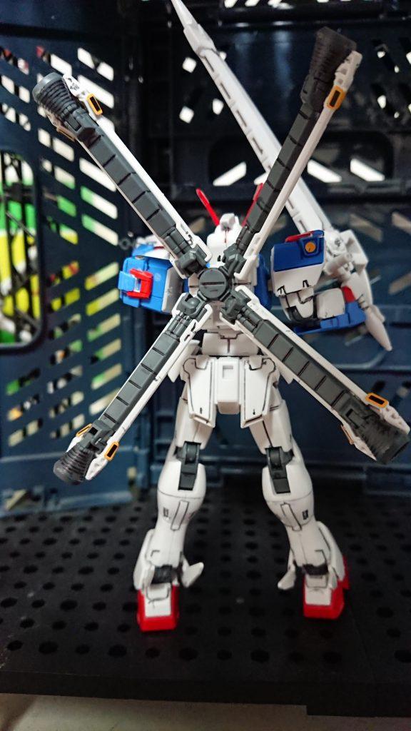 【HG】【プレバン】クロスボーンガンダムX3 アピールショット3