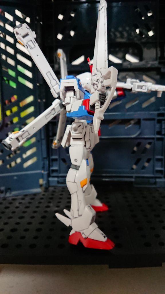 【HG】【プレバン】クロスボーンガンダムX3 アピールショット4