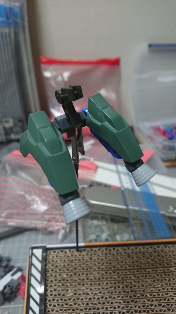 EB-06/tc3 Shiden-Go[Graze Custom Ⅲ]グレイズ改参 紫電号 制作工程3
