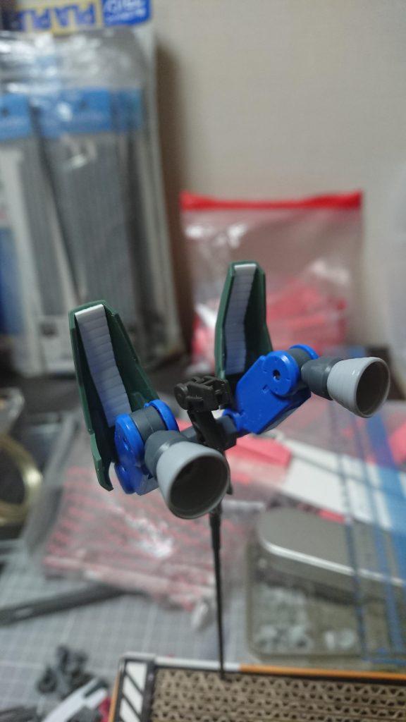 EB-06/tc3 Shiden-Go[Graze Custom Ⅲ]グレイズ改参 紫電号 制作工程4