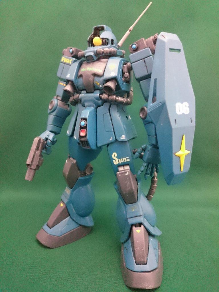 MG強行偵察型ザクⅡ 1.0【B-CLUB改造レジン使用】 アピールショット3